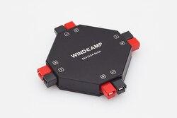 Versão mais recente WINDCAMP AP-4 30A POWERPOLE 4-CH SPLITTER Distribuidor fonte de alimentação de Rádio AMADOR