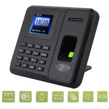 Lcd-Screen Attendance Fingerprint 110-270V Id-Card USB Recognition Password Standalone-Time