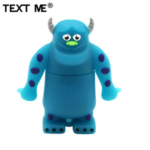 Image 3 - TEXT ME cute cartoon 3 colour Monster University usb flash drive usb 2.0 4GB 8GB 16GB 32GB 64GB pendrive best gift