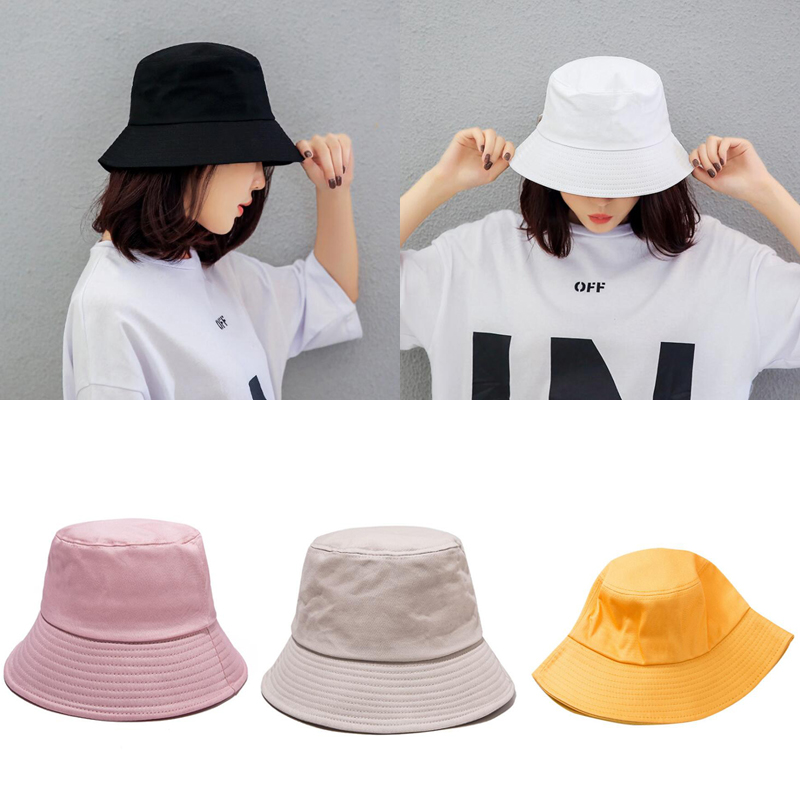 New Ladies Men's Hat Spring And Summer Solid Color Fashion Hat