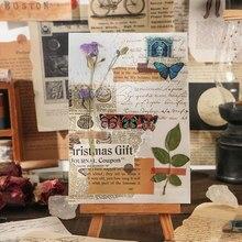 LOMO 카드 빈티지 엽서 카드 선물 카드 종이 공예 종이 장식 Scrapbooking 중세 감사 카드 만들기