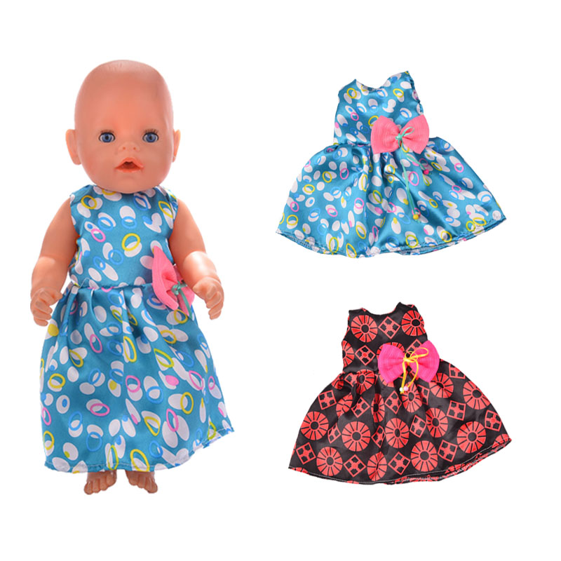 "Sleeveless Dress For American Doll 43cm Baby Doll Clothes 18/"" Generation Dolls"