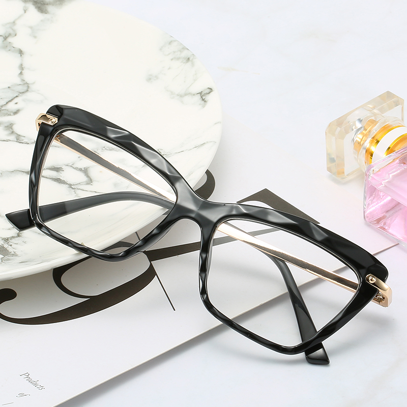 Stylish Transparent Glasses Frames For Women Clear Cat Eye Sexy Frame  Optical Prescription Glasses Women's Eyewear Frames  - AliExpress