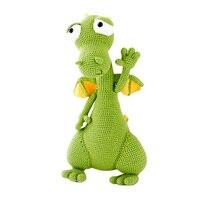 2019 cute handmade big dinosaur doll crochet toy gift knit doll best birthday gift (finished, non DIY)