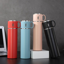 580ml 316 Stainless Steel Tumbler Thermos Bottles Insulated Water Bottle Portable Vacuum Flask Mug Office Men Women Travel Cup