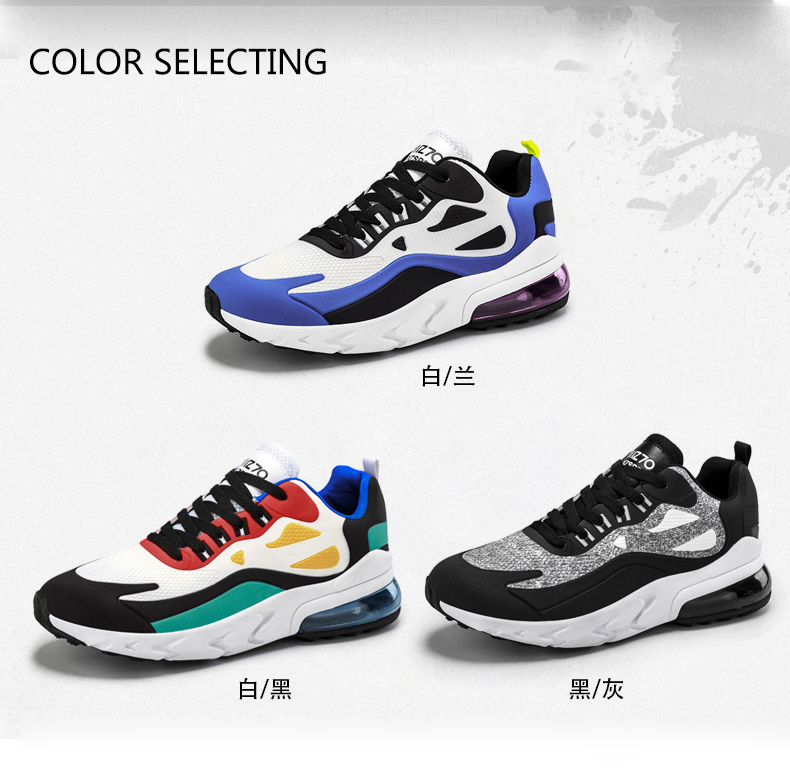 H8ef8dd23279341fbb6a322504a56628br - Mens Casual Shoes Fashion Male Sneakers Air Cushion Breathable Sports Running Shoes PU Mesh Tenis Masculino Adulto Men Shoe