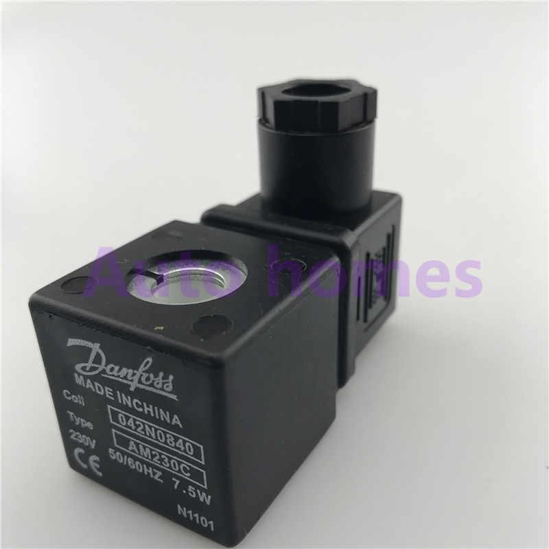 Danfoss Van Điện Từ Cuộn Dây 042N0840 Loại AM230C 7.5W 9.5W Nội Bộ Diameter10mm
