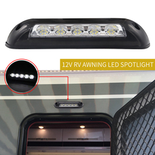 12V RV 5Pcs LED Awning Porch Light Waterproof Interior Wall Lamps Light Bar Energy Saving