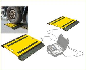 Gram 15T axle truck weighing scale pads vehicle weighing scale weight scale