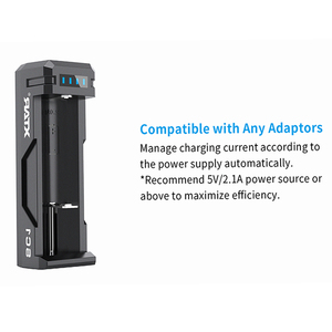 Image 2 - XTAR SC1 USB מטען נטענת מהיר מטען 18700/20700/21700/22650/25500/26650 סוללות ליתיום LED מטען סוללה 18650