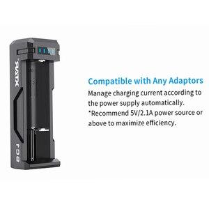 Image 2 - XTAR SC1 USB Ladegerät Wiederaufladbare Schnelle Ladegerät 18700/20700/21700/22650/25500/26650 Li Ion Batterien LED Ladegerät Batterie 18650