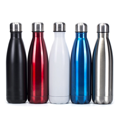 Portable stainless steel water bottle thermos bottle double wall cola water beer sports bottle 350cm 500cm 750cm 1000cm|Water Bottles|   - AliExpress