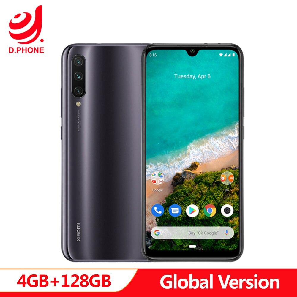 Version mondiale Xiao mi A3 mi A3 4GB 128GB Smartphone 32MP Selfie Android One Snapdragon 665 48MP appareil photo 4030mAh