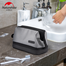 Naturehike Travel Waterproof Cosmetic Bag TPU Dry Wet Separation Wash Bag Outdoor Storage Pouch Portable Toiletry Bags