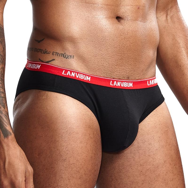 ORLVS Brand Sexy Men Underwear Boxers Cuecas Patchwork Solid Gay Underwear Calzoncillos Hombre Slips Male Shorts