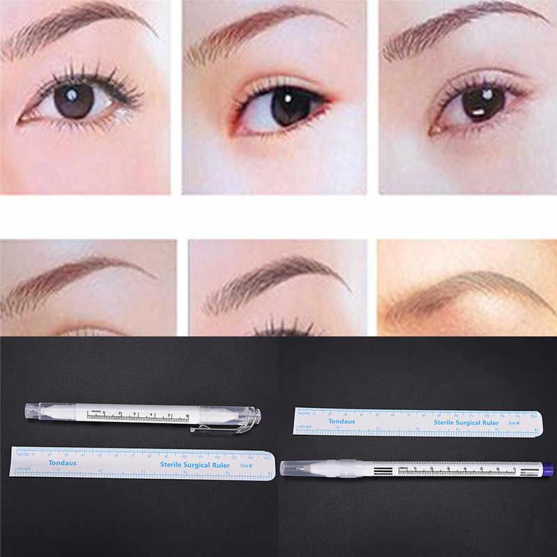 AACAR 1 Pieza de plástico quirúrgico marcador de piel pluma herramienta trazadora Kits para tatuaje Piercing herramienta de maquillaje permanente