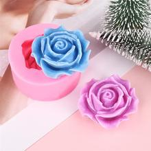Silicone Mold Rose-Flower Decorating-Tools Clay-Soap Cupcake Chocolate Fondant Candy