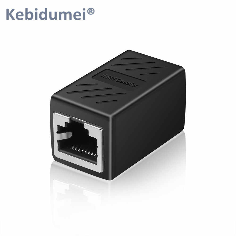 Kebidumei RJ45 Female To Female CAT5 CAT5E CAT6 CAT6A CAT7 Rede Ethernet LAN Adapter Connector Acoplador