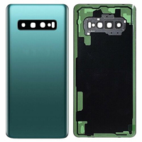 "battery samsung galaxy Shyueda 100% New For Samsung Galaxy S10 6.1"" SM-G973F G973U G973W Rear Back Door Housing Battery Door Cover + Adhesive (3)"