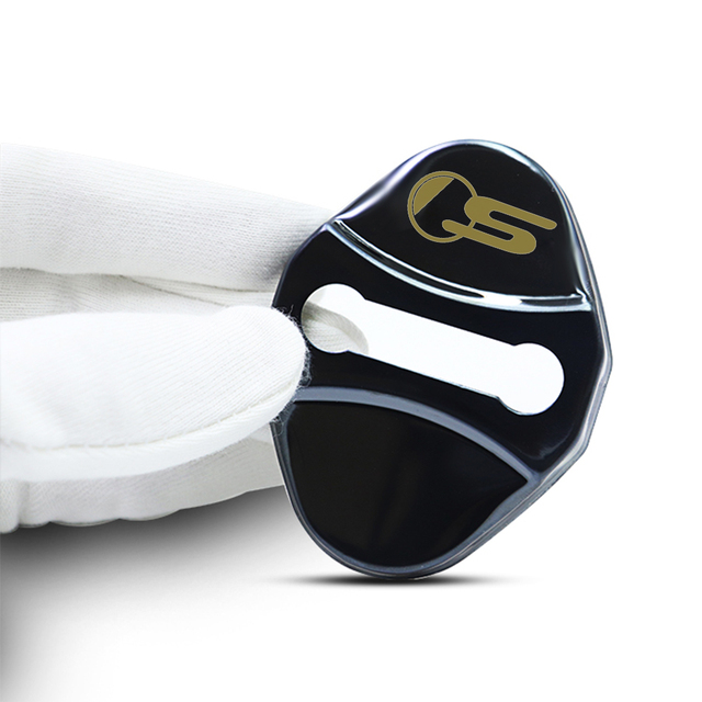 4pcs car Protection cover Car Door Lock car accessories interior For Jaguar F PACE E PACE XE XF R sport S Car sticker 4