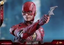 Justice League 1/6 scale Hot Toys MMS448 The Flash Collectible Figure 12 inches action figure for fans Collection gift collectible full set figure 1 6 god of gamblers film asia gao jin chow yun fat little knife lau andy collection for fans gift