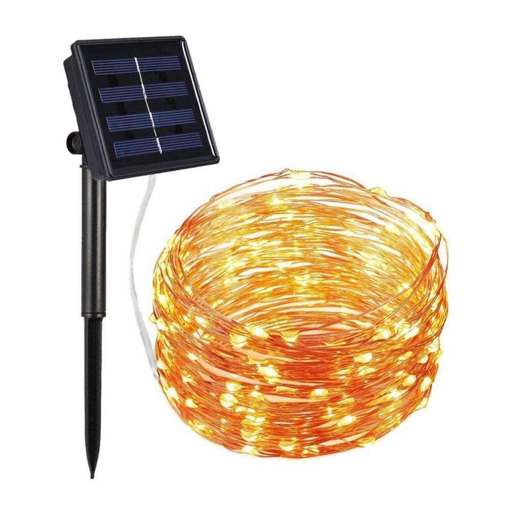 100Led Bubble Ball Outdoor Waterproof Solar Light String Ball Lights Christmas Lights Garden Lights