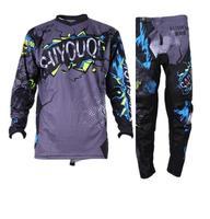 2019 Saiyouqi NEW Gray Jersey Pants Adult Motocross Gear Set Motobiker Racing Gear Combination