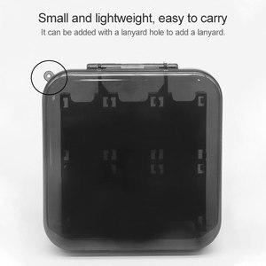 Image 4 - Oyun kartları taşınabilir koruyucu ABS sert kabuk oyun kartları saklama kutusu ile 12 oyun kartuşları tutucu Nintendo anahtarı için