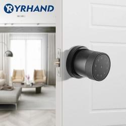 Electric Smart Lock  Digital Keypad Intelligent Smart Door Lock  Waterproof App Password RIFD Card Door Lock For Home Security
