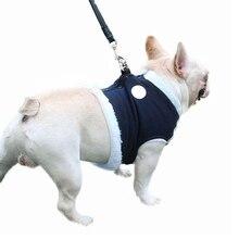 Ошейник для собак ремни плюс теплый грудь сзади одежда для домашних животных тяга для питомцев на прогулке ходьба теплые простые модные зимние ошейники
