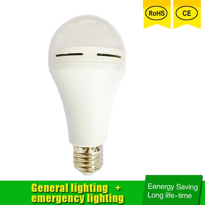 Emergency LED Light Buld Luz De Emergencia Rechargeable LED Saving Energy Intelligent Switch Blackout Emergency Lamp For Home