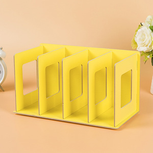 Image 2 - COSTWAY Bookshelf Storage Shelve for books CD 랙 책장 책장 홈 가구 Boekenkast Librero estanteria kitaplik