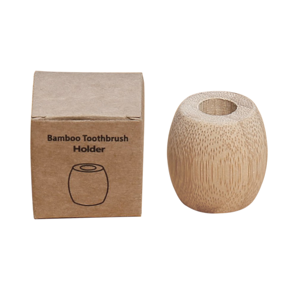 Bamboo Toothbrush Holder Stands Toothbrush Accessories Tools for Bathroom image