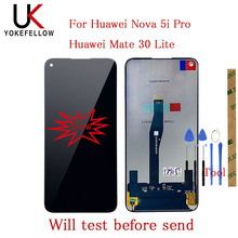 "6.26""LCD For Huawei Nova 5i Pro / For Huawei Mate 30 Lite Lcds SPN-AL00 SPN-TL00 LCD Display With Touch Screen Assembly"