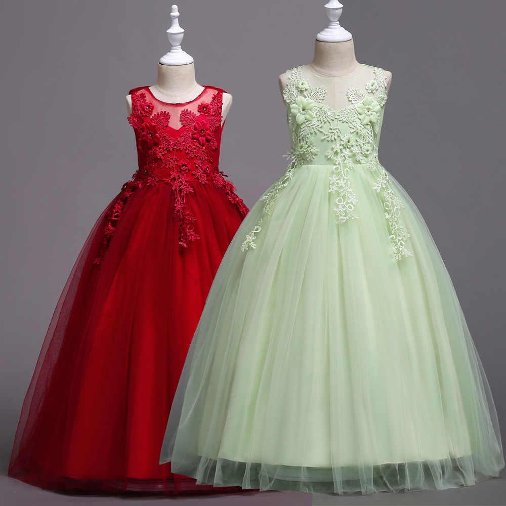UK Stock Wedding Princess Shirt Dress Birthday Formal Party Clothing Set 2-12Y