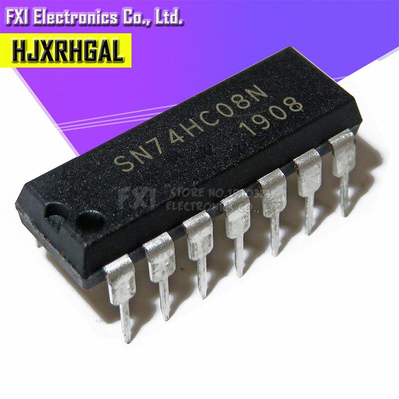 10PCS SN74HC08N SN74HC08 DIP14 DIP 74HC08N 74HC08 New Original
