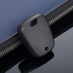 Image 5 - 2 botão Auto Fob Chave Em Branco Substituição Shell Case Capa Para Peugeot 107 207 307 407 106 206 306 406 Citroen C1 C2 C3 C4 XSARA