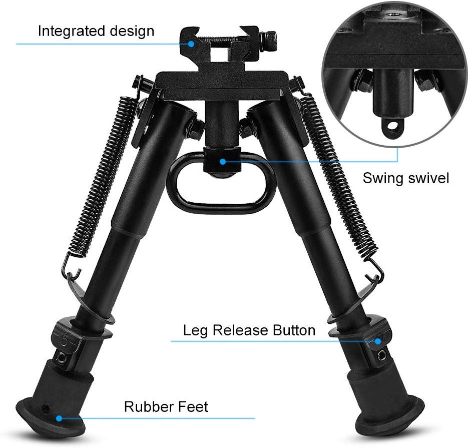 Naugelf Outdoor Sports CS Tactical Support 6~9 Inch Tripod Joint Camera Converter 20mm Interface Guide Gel Ball Acc