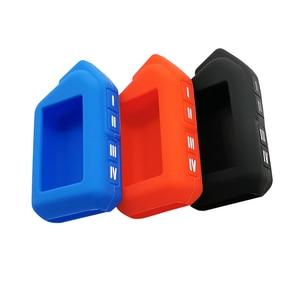 Image 5 - 2 Way silika jel anahtar kılıfı için Sher khan Mobicar bir Mobicar B güvenlik iki Senses araba Alarm sistemi rusça sürüm Fob
