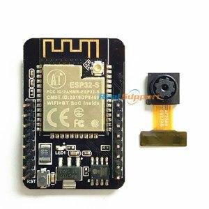 Image 2 - ESP32 ESP32 CAM WiFi + Bluetooth Module Camera Module Development Board with Camera Module OV2640 2MP Genuine authorization