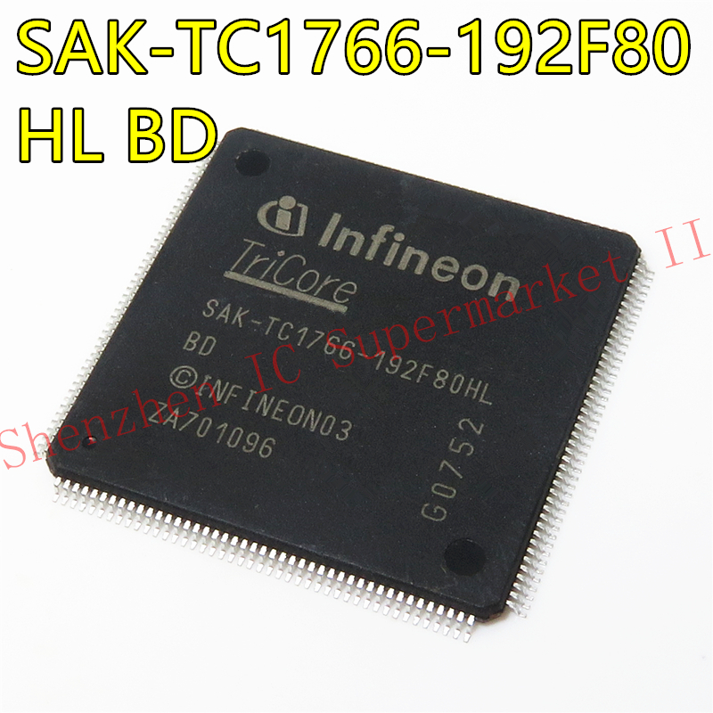 1pcs/lot SAK-TC1766-192F80HL SAK-TC1766-192 SAK-TC1766 LQFP-176 In Stock