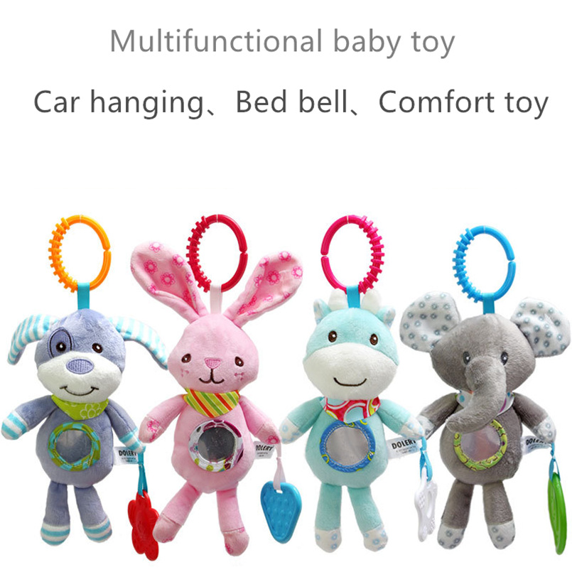 Baby rasselt Kinderwagen hängen Stofftier mobiles Bett niedlichen - Baby und Kleinkind Spielzeug - Foto 4