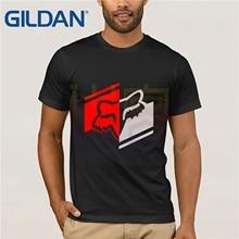 Fox Logo Racinger Black Mens T-Shirt Tee All Sizes 2019 fashion Brand T Shirt  Amazing Short Sleeve Unique