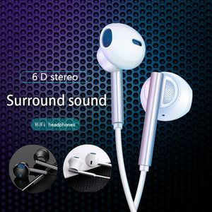 Image 3 - KISSCASE Wired Earphone For Xiaomi 6D Stereo Surround Gaming Music Earbuds Headset With Microphone Sports Headphones Earphones