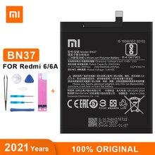Оригинальный аккумулятор Xiao Mi BN37 3000 мАч для Xiaomi Redmi 6 Redmi6 Redmi 6A высококачественные сменные батареи для телефона