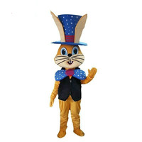 Rabbit Mascot Costume Suits Cosplay Party Game Dress Outfits Clothing Advertising Carnival Halloween Xmas Easter Festival Adults