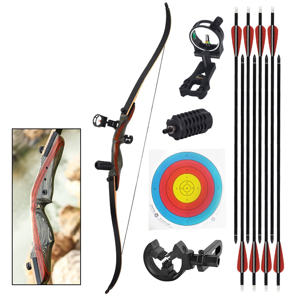 30-50-lbs-Traditional-Recurve-Bow-Archery-Target-Adult-Hunting-Bow-Arrow-For-Outdoor-Shooting-Professional