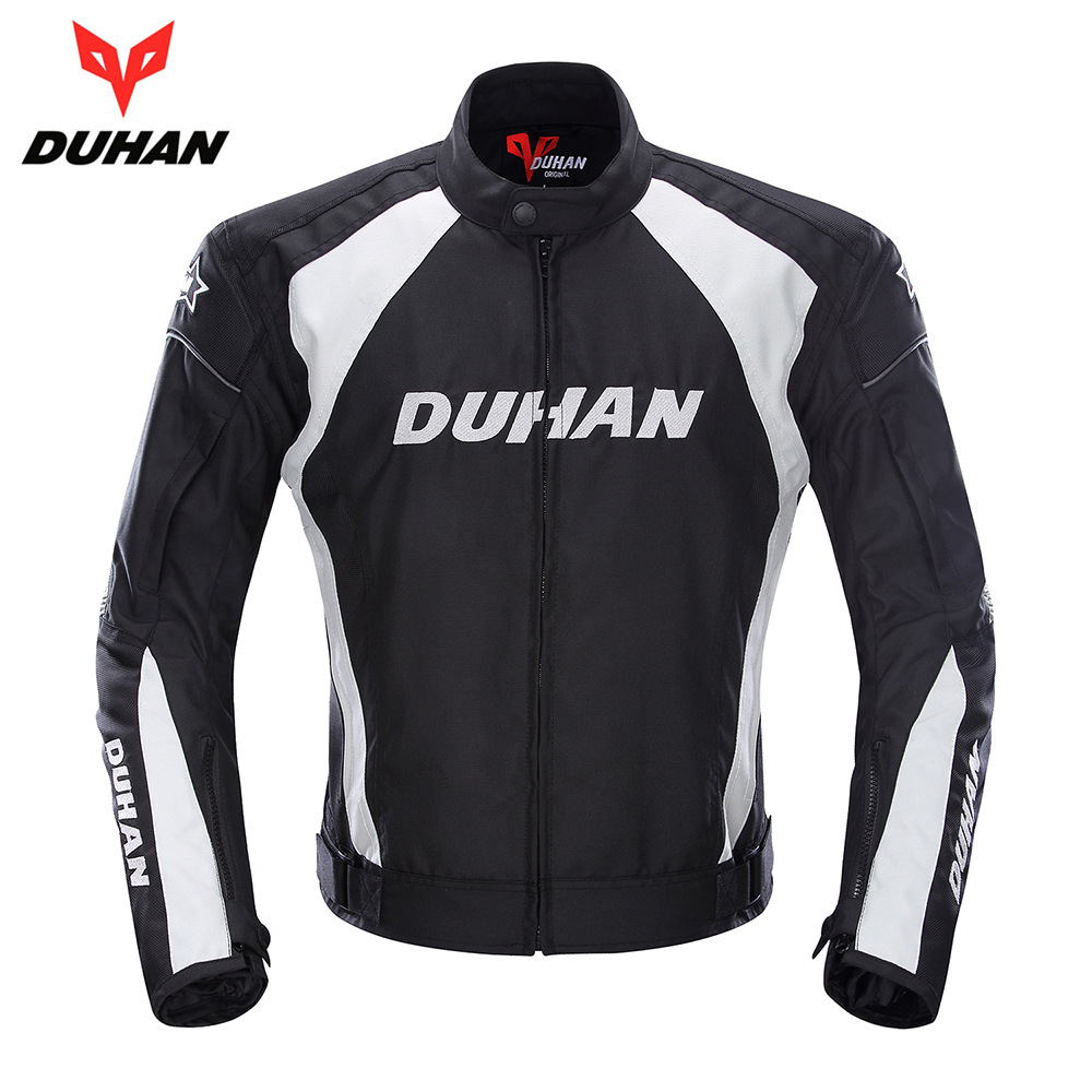 DUHAN Riding Race Car Motorcycle Clothing Locomotive Rally Clothes Shatter-resistant Jacket Genuine Product Protection Suit Rain