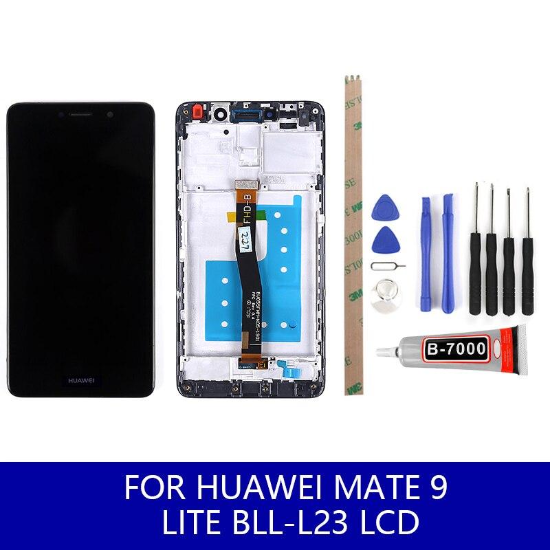 Para Huawei Ascend Mate 10 LITE Pantalla LCD pantalla táctil frontal cristal con herramienta