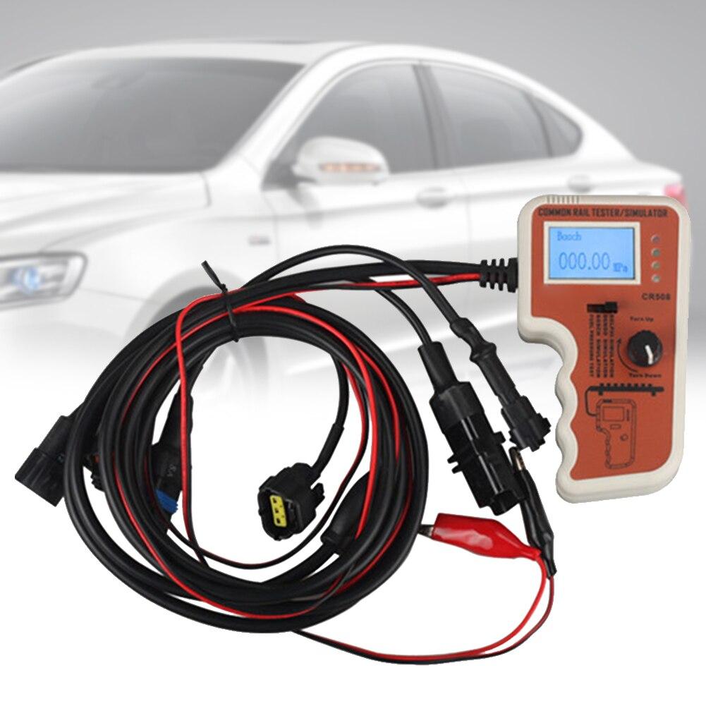 Outil de voiture testeur de pression de carburant à rampe commune accessoires de Simulation de diagnostic précis pour Bosch